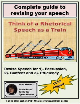 Revise Content, Persuasion and Efficiency in Speeches - CCSS Aligned