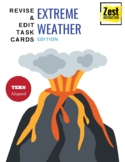 Revise & Edit Task Cards: Extreme Weather Edition