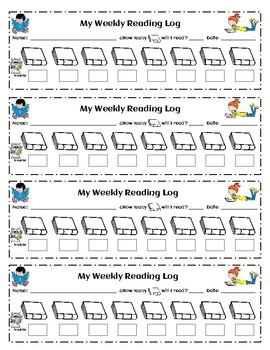 Revise & Edit Writing Checklist + AR Goal Logs