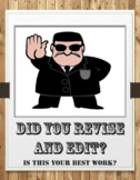 Revise & Edit Writing Posters - A.R.M.S & C.O.P.S