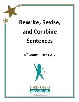 Revise Sentences 4th Grade Part 1 & 2