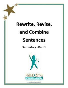 Revise Sentences Secondary Part 1
