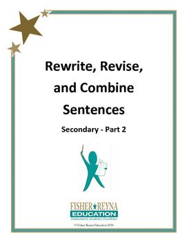 Revise Sentences Secondary Part 2