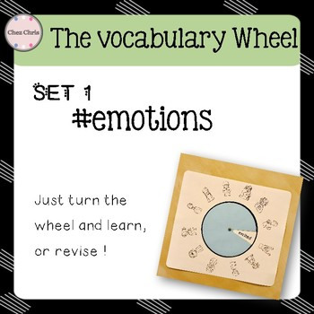 Revise Vocabulary: Turn the wheel ! SET 1: emotions