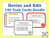 Revise and Edit 140 Task Cards Bundle