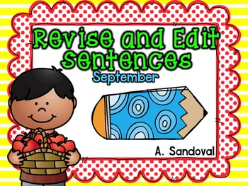 Revise and Edit Center in ENGLISH SEPTEMBER