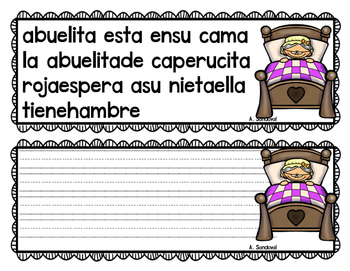 Revise and Edit Center in SPANISH FAIRY TALES