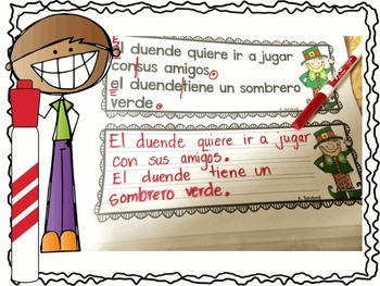 Revise and Edit Center  in Spanish March