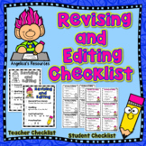Martin Luther King Jr. - 100th Day of School : Revising & Editing Checklists
