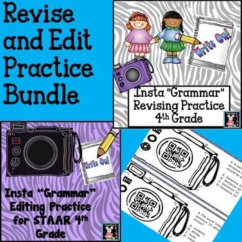 "Revise and Edit Insta ""Grammar"" Bundle"