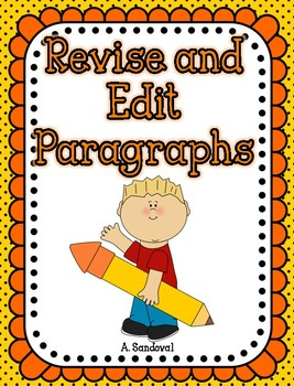 Revise and Edit Paragraphs in English