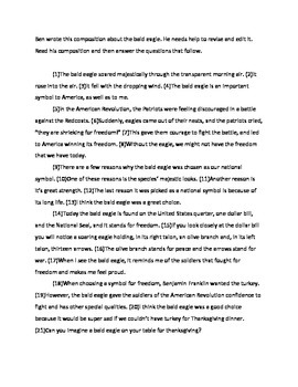 Revise and Edit Passage: Test Prep Eagle