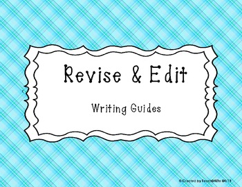 Revise and Edit Posters