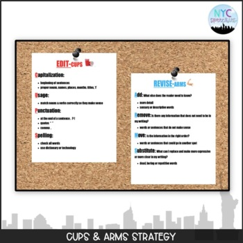 Revise and Edit Strategies