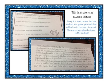 Revise the Story: TEN one-page stories for revisions & figurative language!