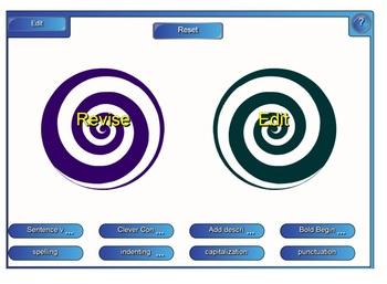 Revise vs. Edit Writing SMARTboard Compare & Contrast