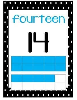 Revised 14 ten frame