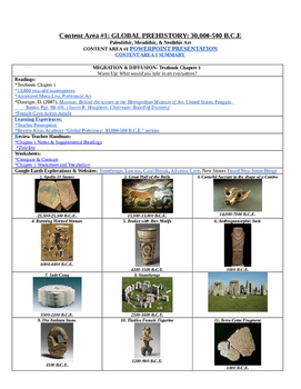 Revised AP Art History Syllabus