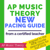Revised AP Music Theory Course Pacing Guide - Effective Fall 2019