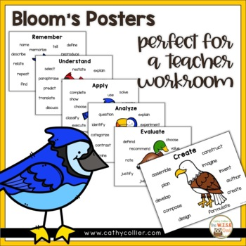 Revised Bloom's Questions Guide - Birds