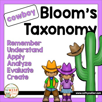 Revised Bloom's Questions Guide - Cowboys