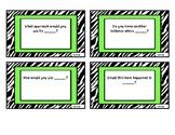 Revised Bloom's Stem Cards