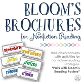 Revised Bloom's Taxonomy Brochures {Nonfiction}
