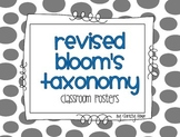Revised Bloom's Taxonomy - Classroom Posters