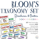 Revised Bloom's Taxonomy BUNDLE {Posters + F & NF Brochures}