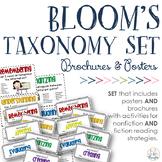 Revised Bloom's Taxonomy BUNDLE {Posters + F & NF Brochures}