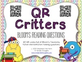 Revised Bloom's Taxonomy QR Code Questions {Fiction + Nonfiction}
