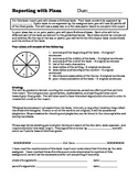 Reporting with Pizza Project Directions and Rubric
