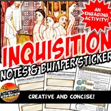Spanish Inquisition and Spain & Bumper Sticker REVISED