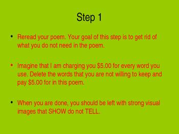 Revising A Poem