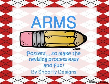 Revising ARMS Posters in Red and Bright Blue