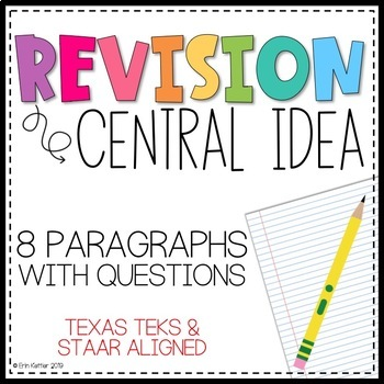 Revising: Central Idea - Writing Test Prep