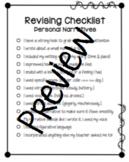 Revising & Editing Checklists