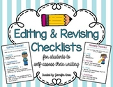 Revising & Editing Checklists {COPS and ARMS}