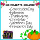 Revising and Editing Holidays Bundle