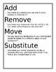 Revising/Editing Writing Anchor Charts