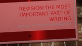Revising: How to revise your writing