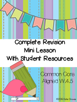 Revising Mini Lesson