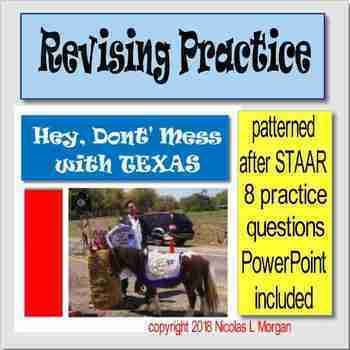 """Revising Practice Passage """"Hey, Don't Mess with Texas"""""""