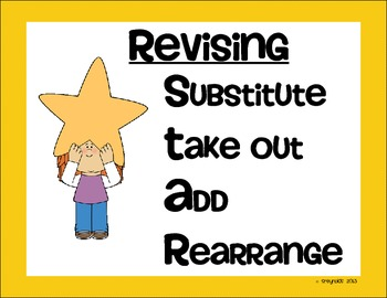 Revising S.T.A.R. Poster Set