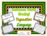 Revising Sentences Using Figurative Language Task Cards