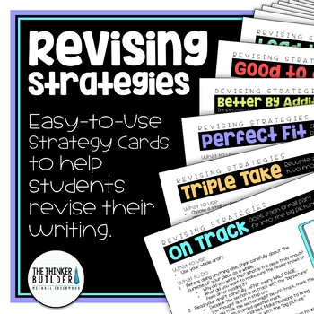 Revising Strategies for Student Writers