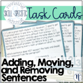 Add, Move, and Remove Sentences Skill-Specific Revising &