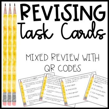 Revising Task Cards - Mixed Review