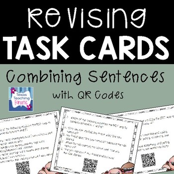 Revising Task Cards with QR Codes: Combining Sentences