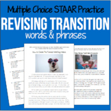 Revising Transition Words and Phrases! 4th grade Revising for WRITING STAAR
